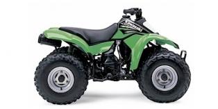Kawasaki KFX80 2004