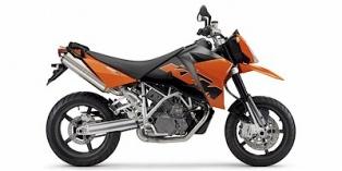 KTM 950 Supermoto Orange 2006