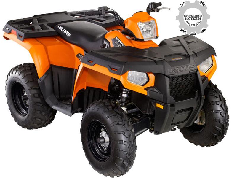 Фото квадроцикла Polaris Sportsman 500 H.O. 2012 — Orange Madness