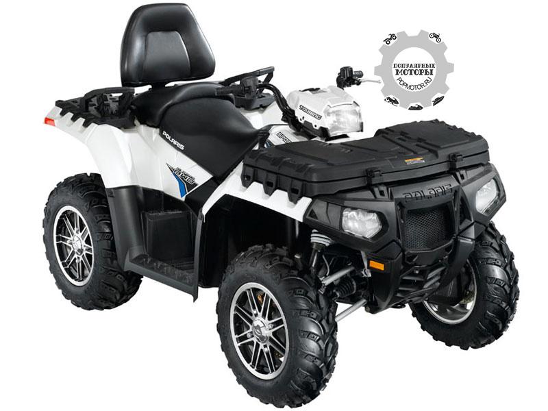 Фото квадроцикла Polaris Sportsman Touring 850 EPS 2012 — Pearl White