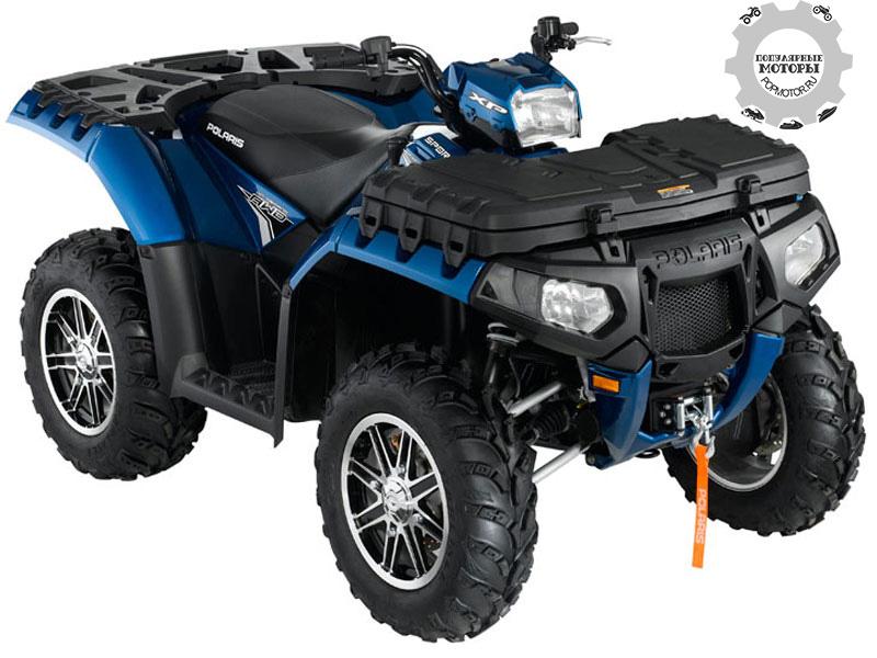 Фото квадроцикла Polaris Sportsman XP 550 EPS 2012 — Blue Fire