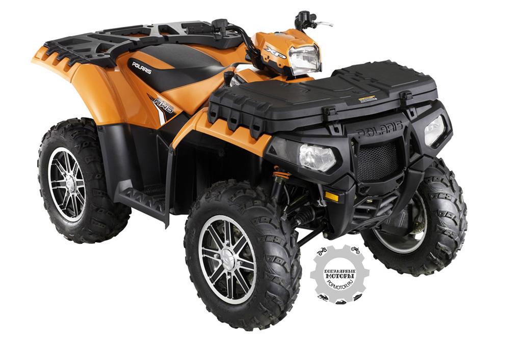 Фото квадроцикла Polaris Sportsman XP 850 H.O.  2012 — Orange Madness