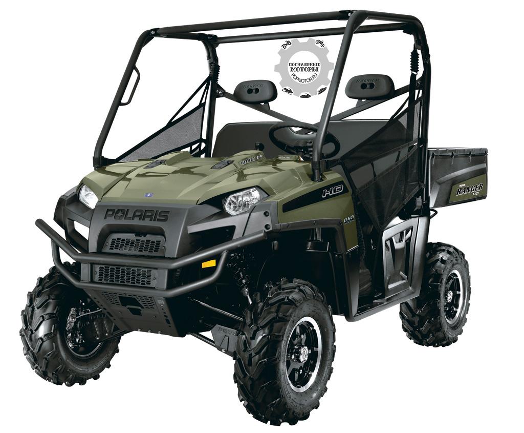 Торможение двигателем – одна из новых отличительных особенностей Ranger HD 800 2012 года.