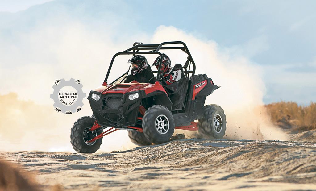 Возможность регулировки подвески без инструментов – лишь одно из многочисленных нововведений Ranger RZR XP 900 образца 2012 года.