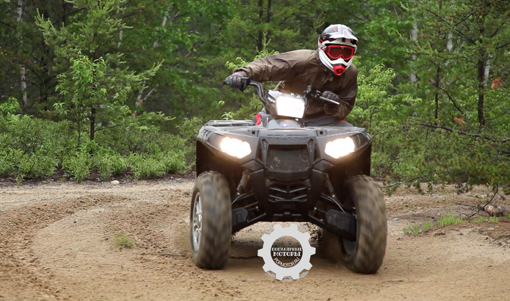Модельный ряд квадроциклов Polaris и мотовездеходов Polaris Ranger 2012 года