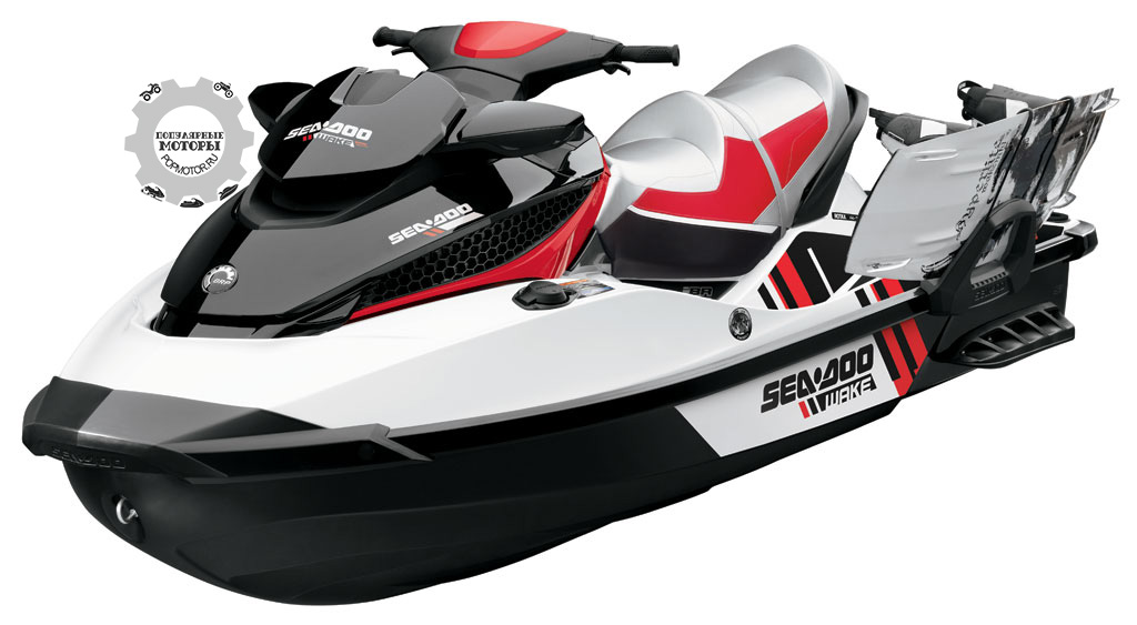 Анонс модельного ряда гидроциклов Sea-Doo 2013 года