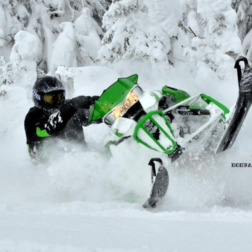 Фото горного снегохода 2013 Arctic Cat HCR 1100 2013