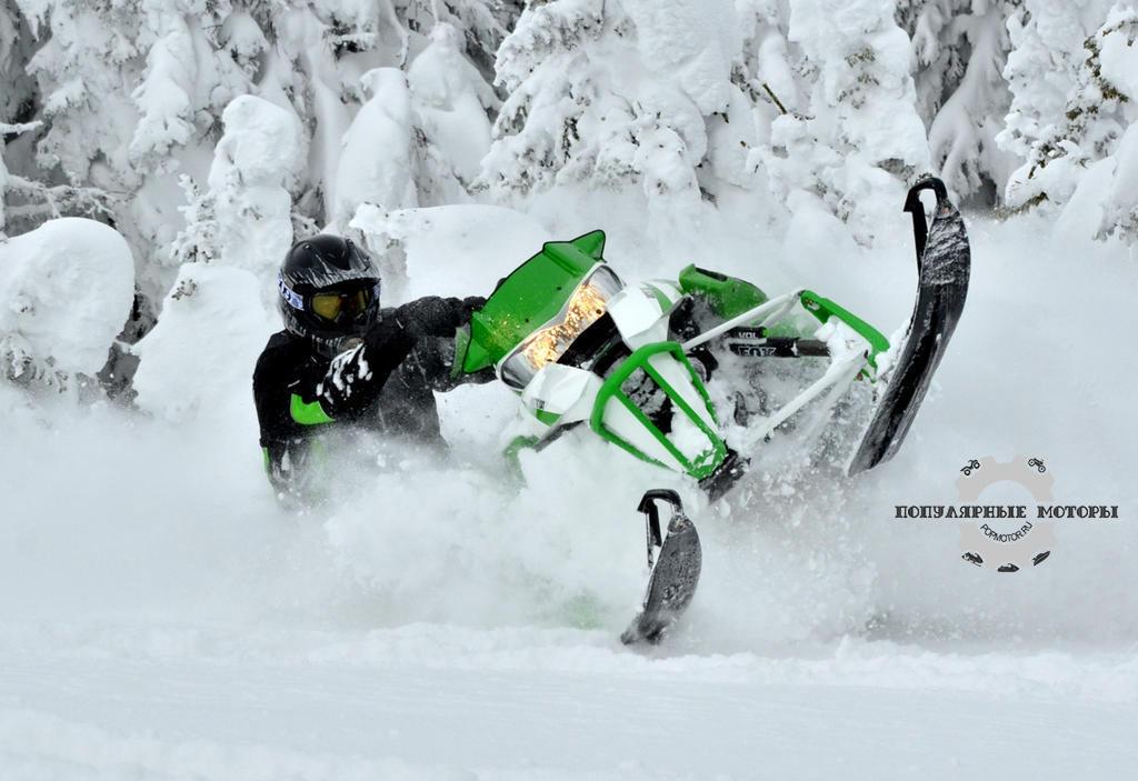 Горные снегоходы 2013 года