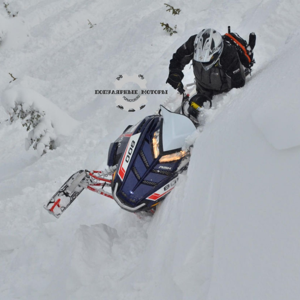 Фото горного снегохода 2013 Polaris Pro RMK 155 2013