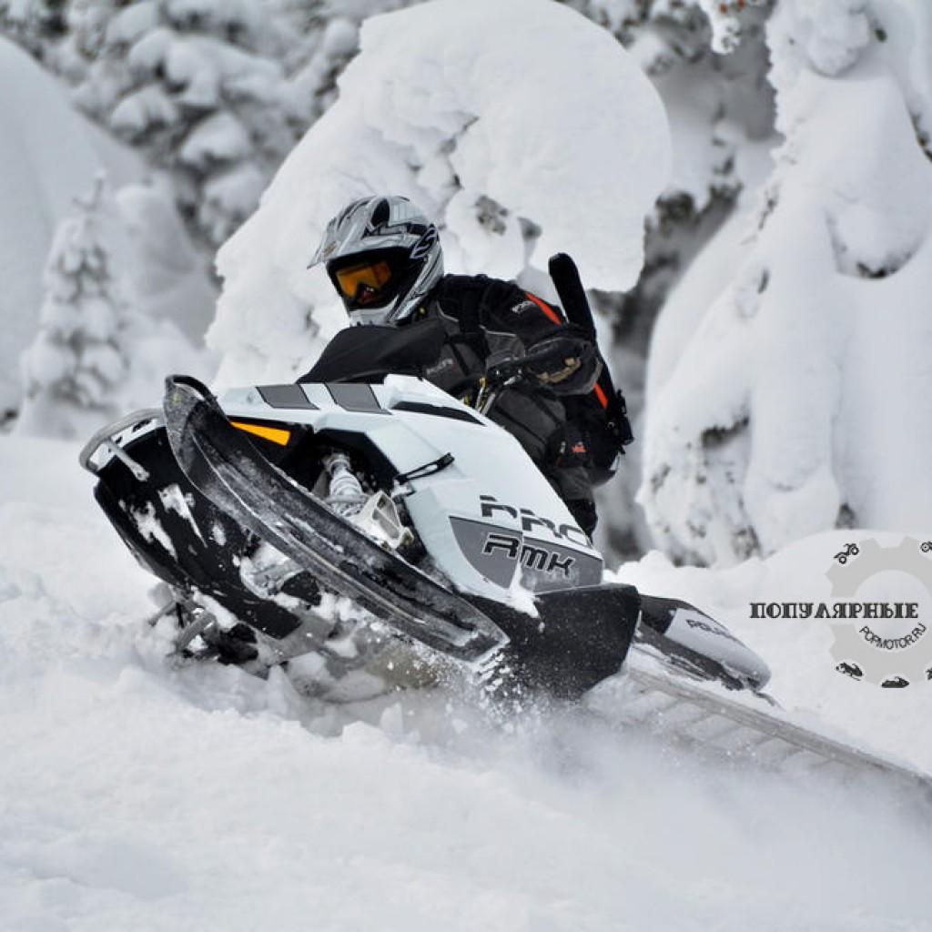Фото горного снегохода 2013 Polaris Pro RMK 163 LE 2013