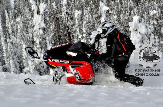 Лучший горный снегоход для начинающих 2013 - Polaris RMK Pro 600