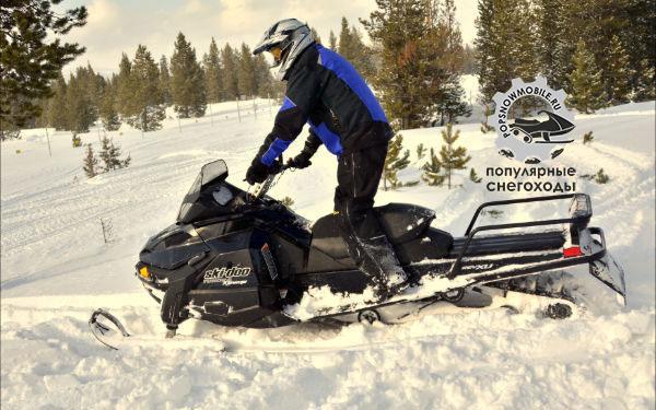 Лучший горный утилитарный снегоход 2013 - Ski-Doo Tundra Xtreme