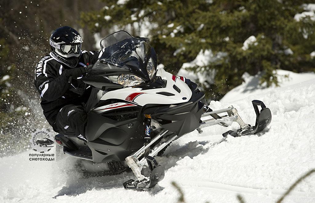 Фото лучшего из лучших снегоходов 2 место Yamaha Apex SE 2013