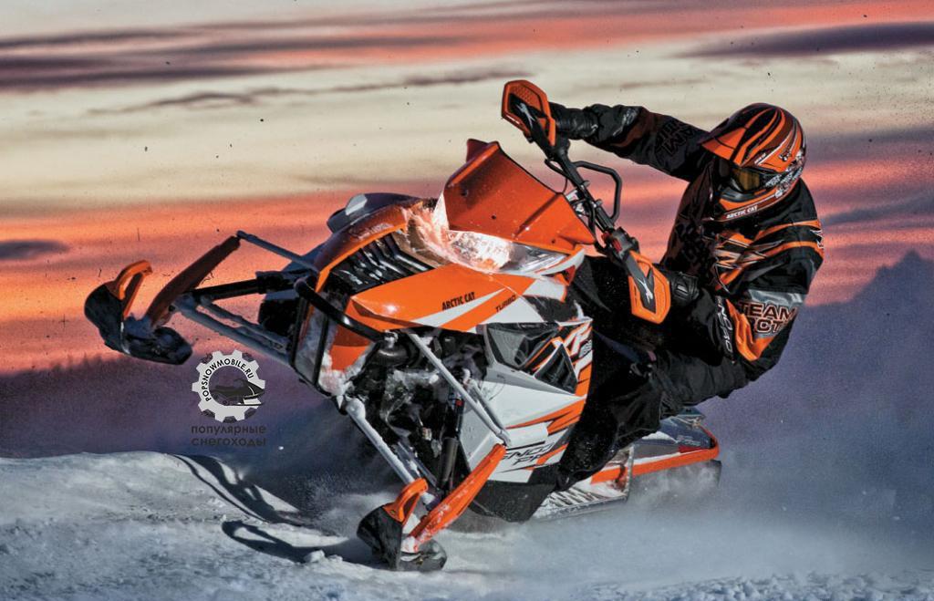 Лучший из лучших снегоходов 2013 - Arctic Cat XF1100 Turbo Sno Pro 2013