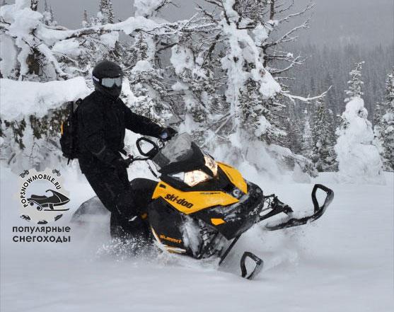 Лучший снегоход для глубокого снега 2013 - Ski-Doo XM Summit X 154