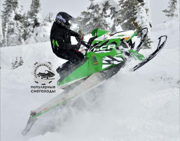 Лучший снегоход для горных гоночных заездов 2013 - Arctic Cat HCR 800
