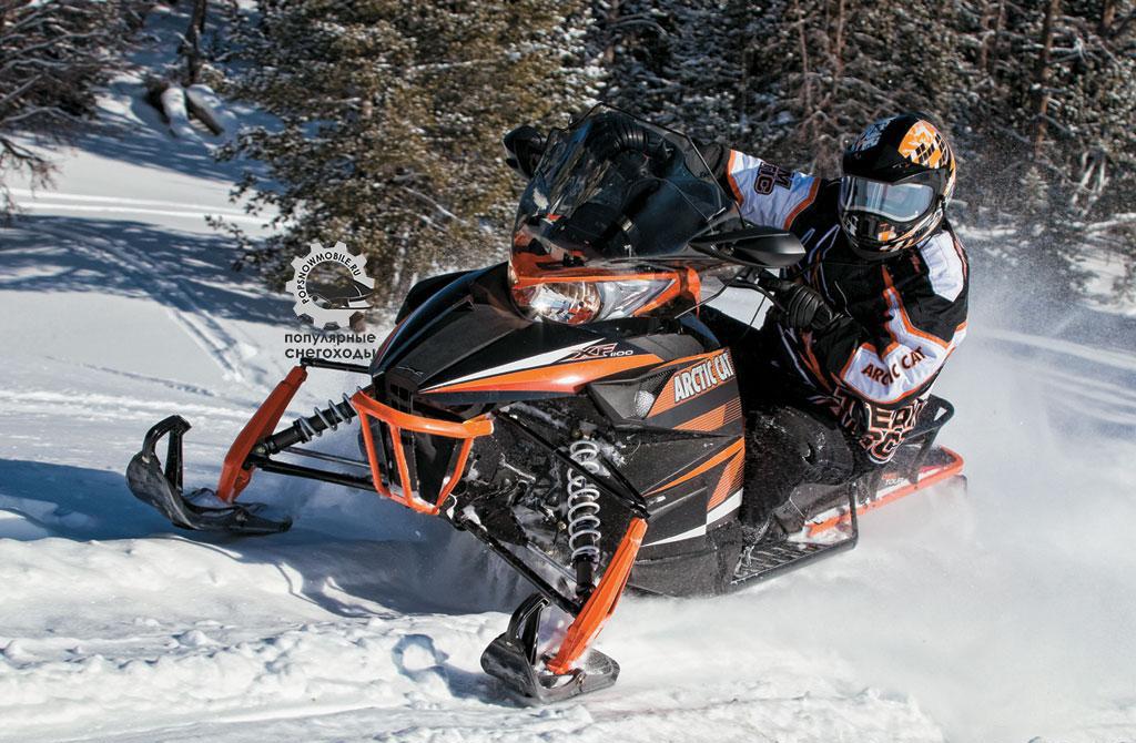 Фото лучшего спортивно-туристического снегохода Arctic Cat XF1100 CrossTour 2013