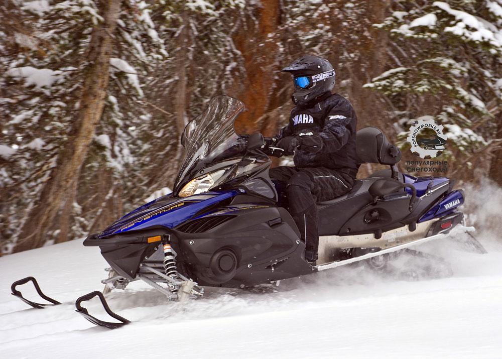 Фото лучшего спортивно-утилитарного снегохода Yamaha Venture TF 2013