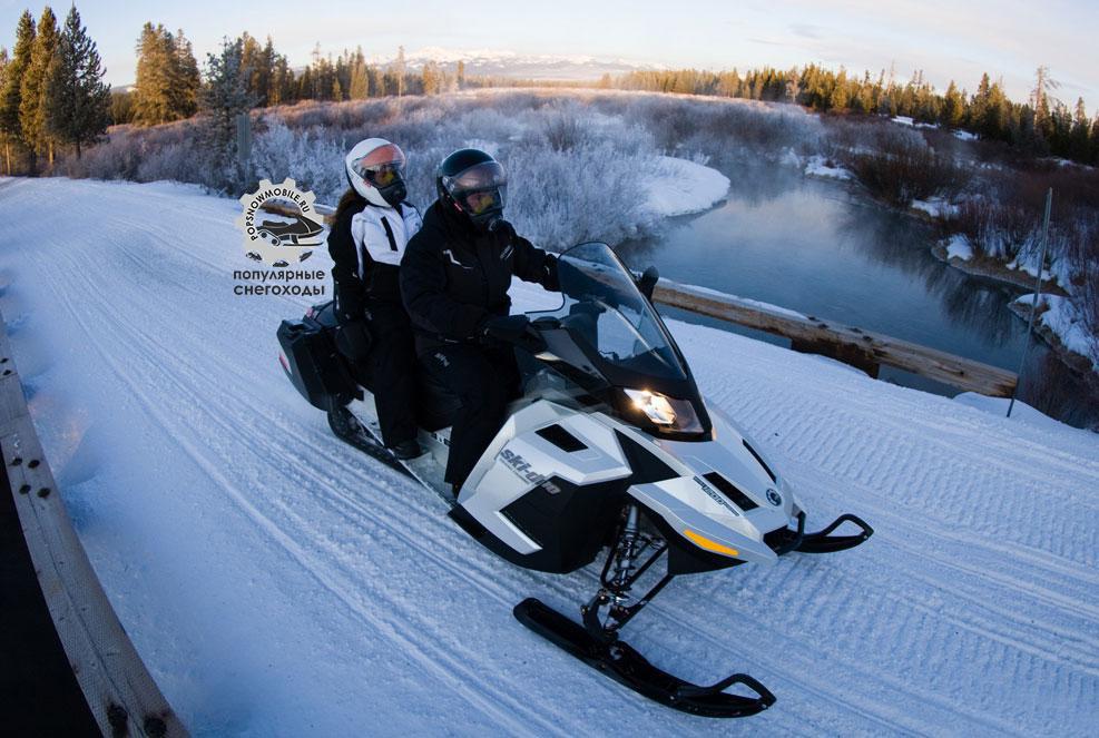Фото лучшего туристического снегохода Ski-Doo Grand Touring SE 2013