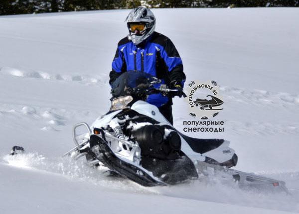 Лучший 4-тактный снегоход для начинающих 2013 - Yamaha Phazer MTX