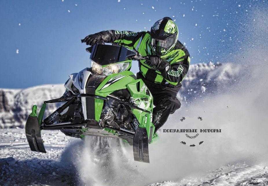 Модельный ряд снегоходов Arctic Cat 2013 года