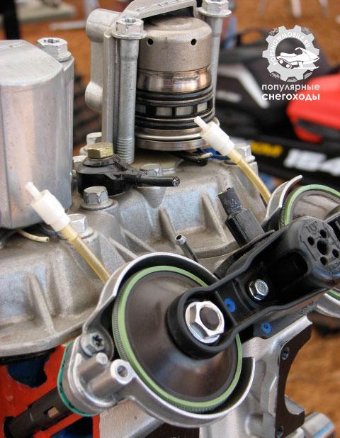 Rotax E-Tec с прямым впрыском –это вес 2-тактного двигателя и преимущества 4-тактного в виде расхода топлива и масла.