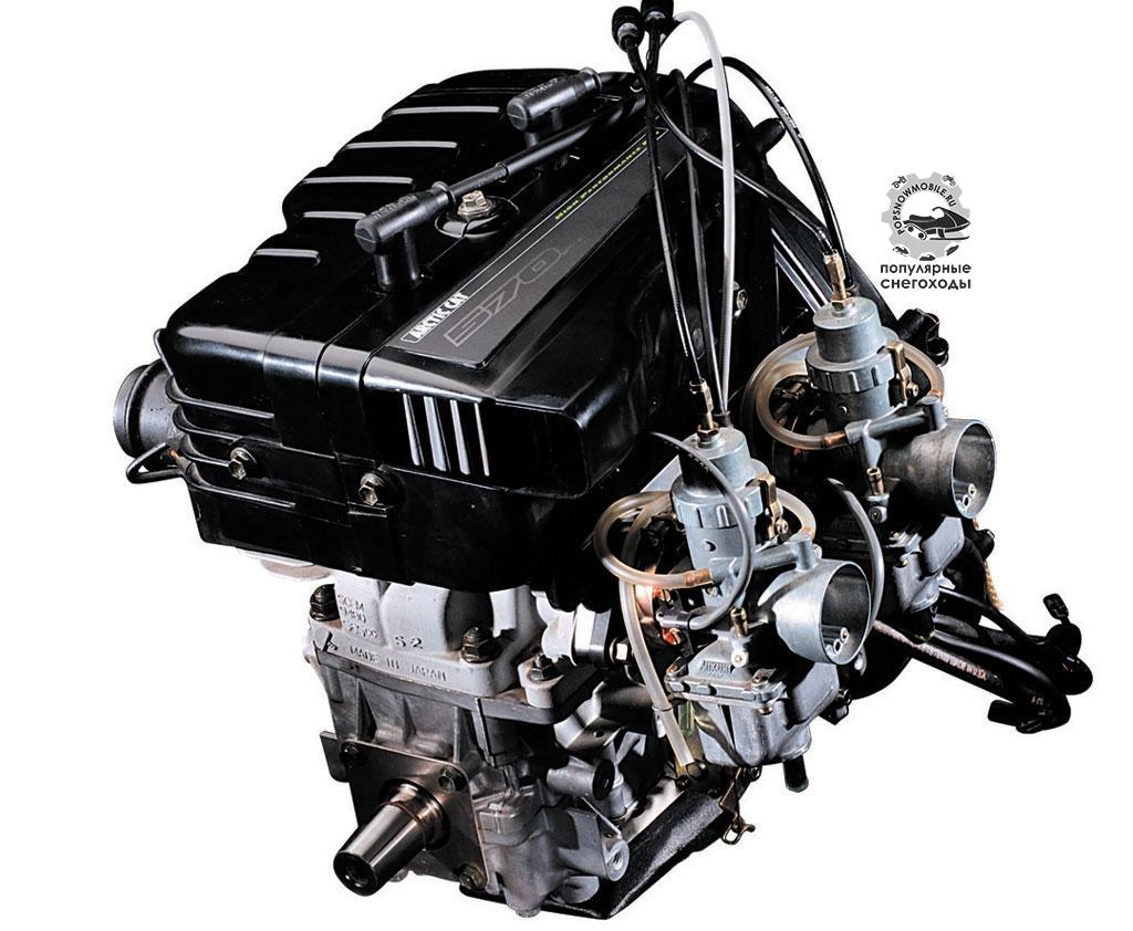 2-тактные двигатели с воздушным охлаждением, такие как Arctic Cat 570, очень лёгкие, не такие сложные, как 4-тактные, и являются отличным и недорогим вариантом для базовых моделей.