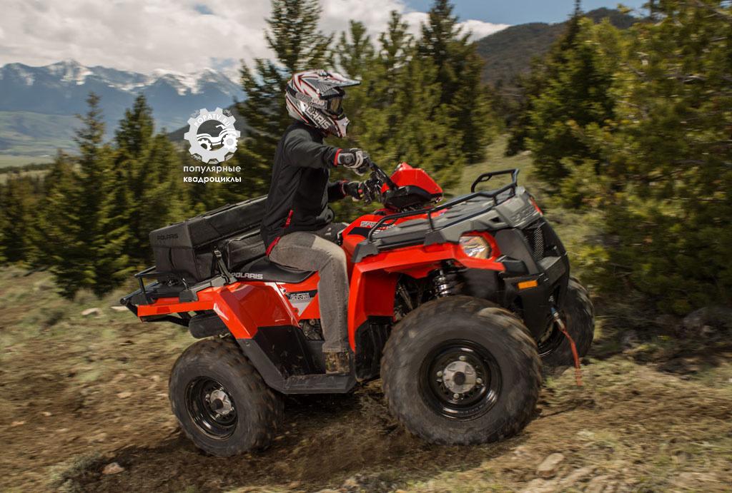 Polaris Sportsman 570 заменит самый продаваемый 4x4 квадроцикл за всю историю и самую выгодную модель в индустрии.