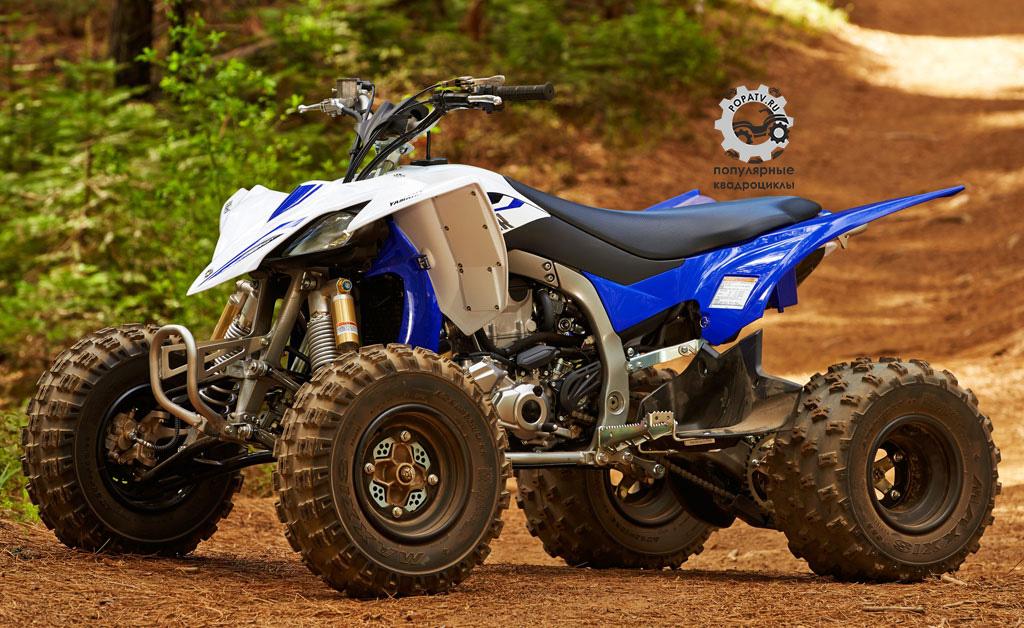 Фото анонса квадроцикла Yamaha YFZ450R 2014 боком