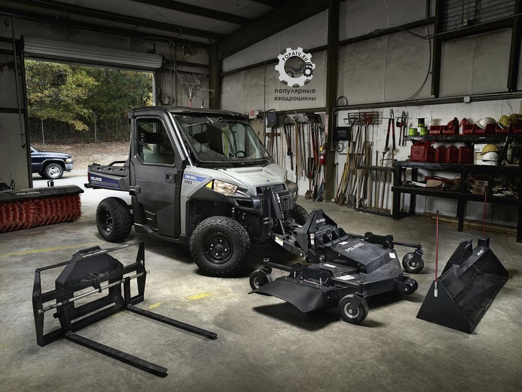 Для Brutus заготовлен целый ряд аксессуаров и приспособлений, а в будущем будет ещё больше.