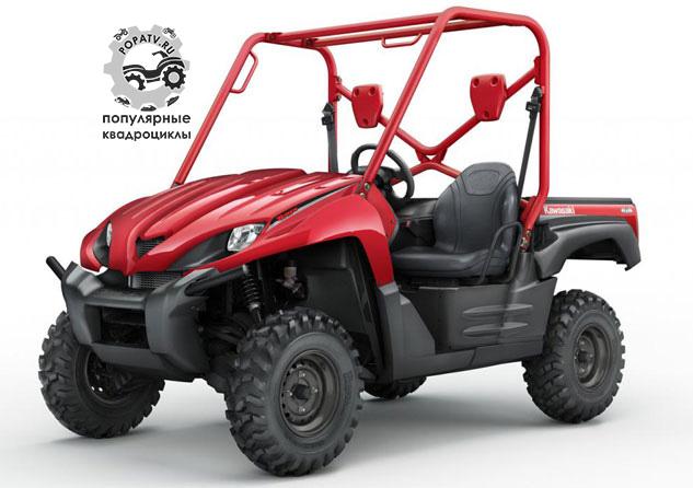 Это оригинальный Kawasaki Teryx 750 4x4 2008.