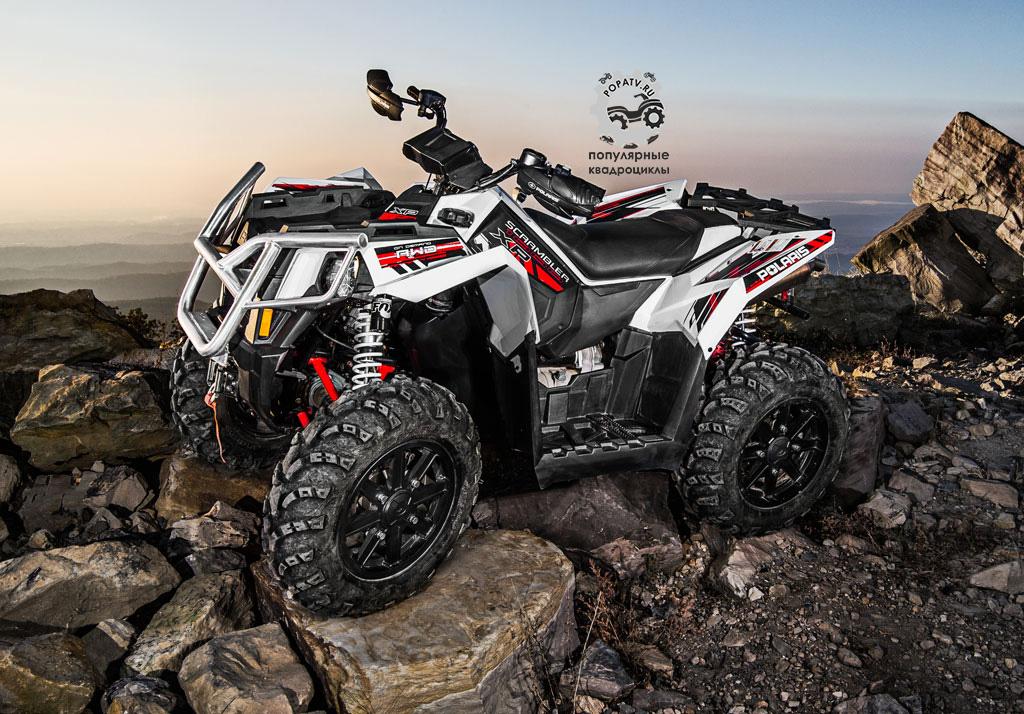 Polaris заявляют, что их новый Scrambler XP 1000 EPS – самый мощный квадроцикл в индустрии.