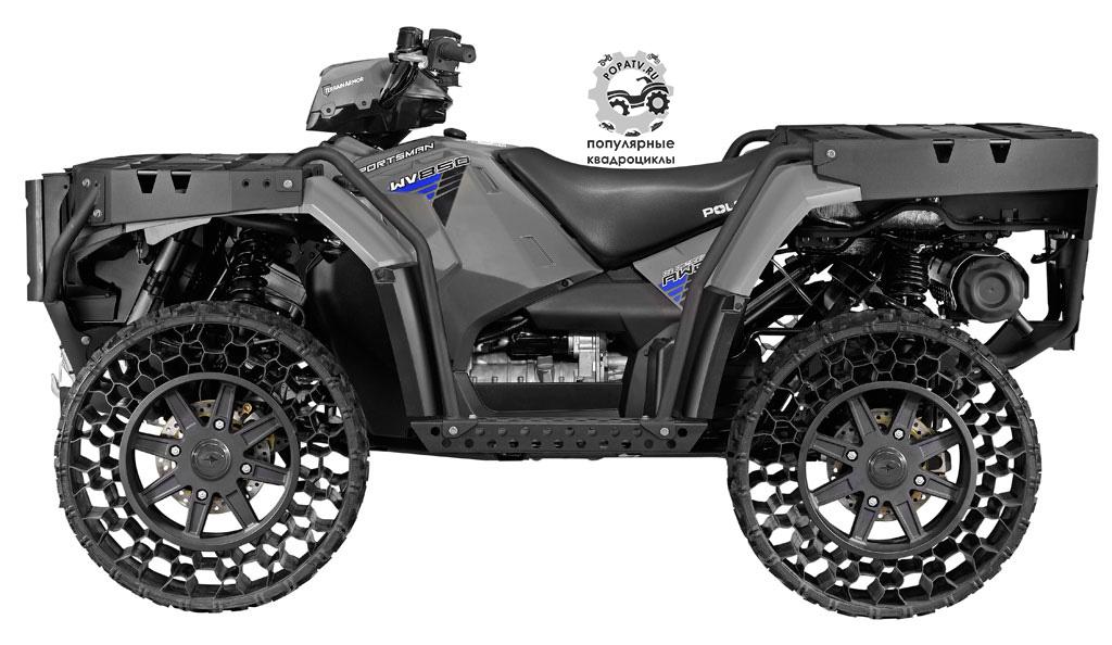 Анонс квадроцикла Polaris Sportsman WV850 2014