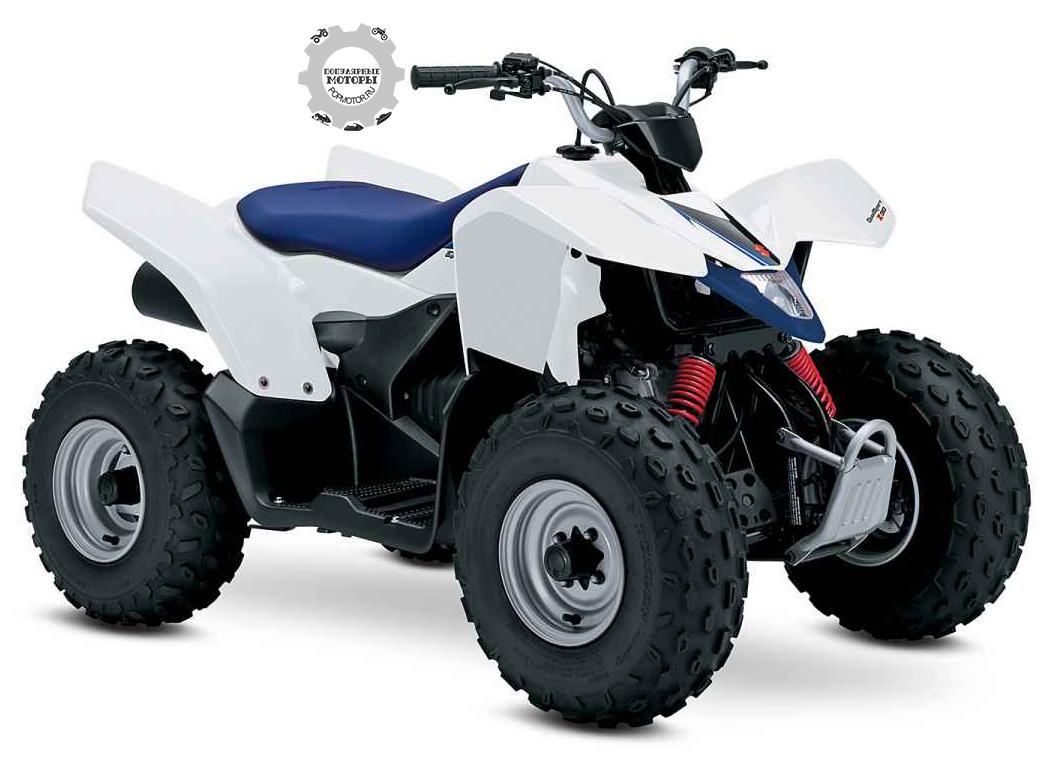 Обзор квадроцикла Suzuki Quadsport Z90 2014