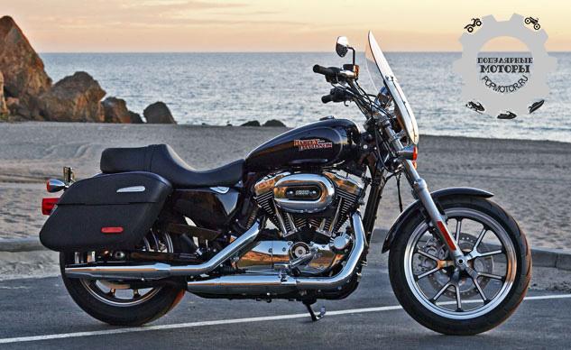 Превью мотоцикла Harley-Davidson SuperLow 1200T 2014