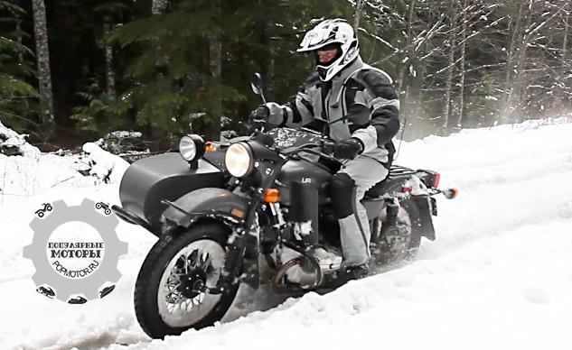Обзор мотоцикла Ural Gear-Up 2014