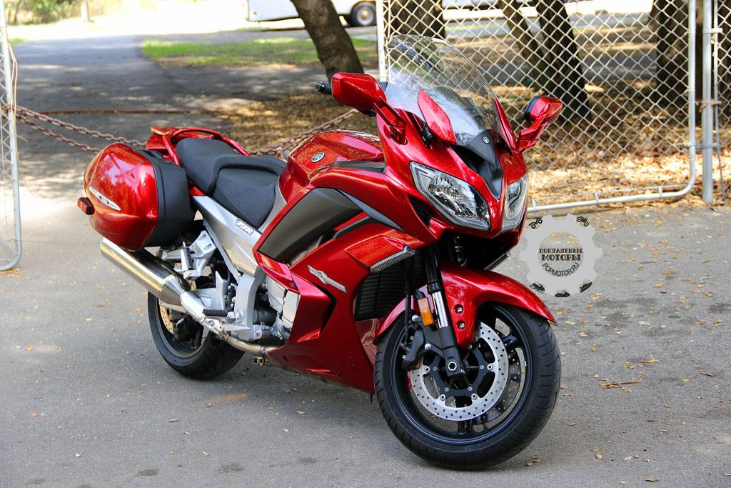 Обзор мотоцикла Yamaha FJR1300ES 2014
