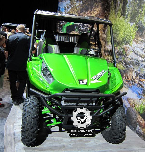 Первые впечатления от мотовездехода Kawasaki Teryx 2014
