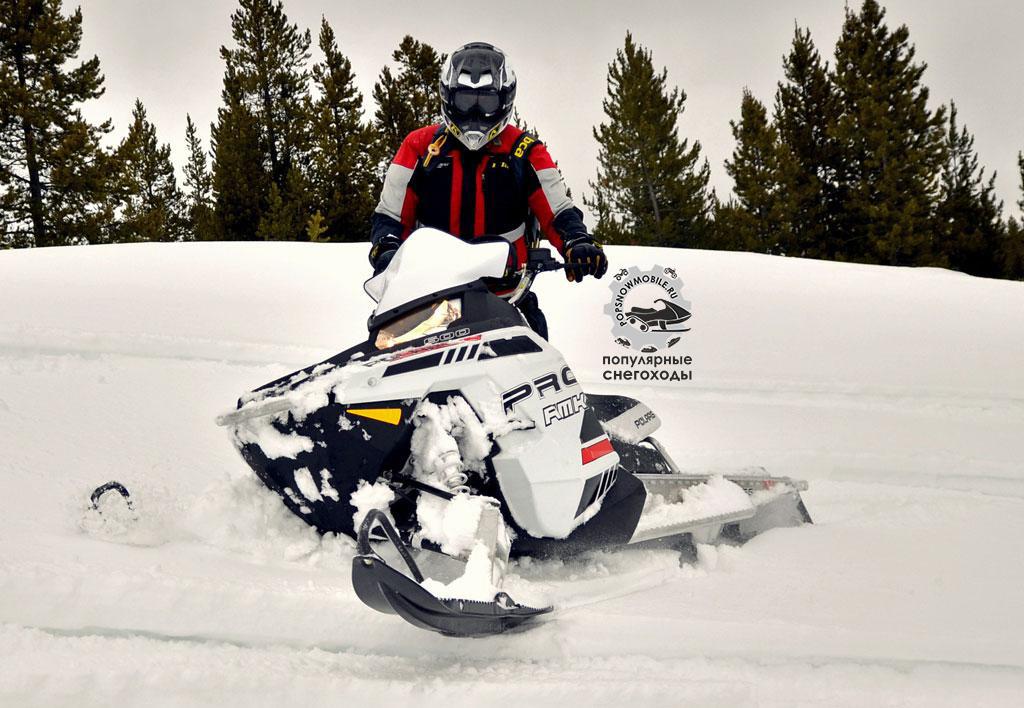 600 RMK Pro 155 от Polaris – шикарный горный снегоход для начинающих, удостоившийся нашей соответствующей награды.