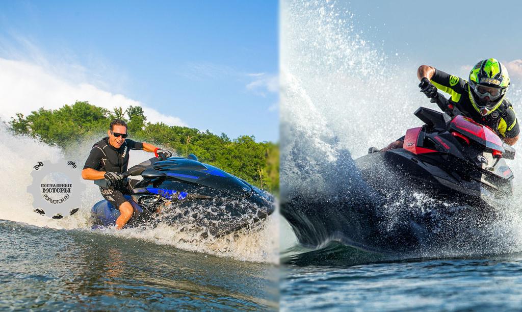Сравнение гидроциклов Sea-Doo RXP-X 260 и Yamaha FZR 2014 года