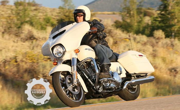 Туристические мотоциклы Harley-Davidson 2014 года