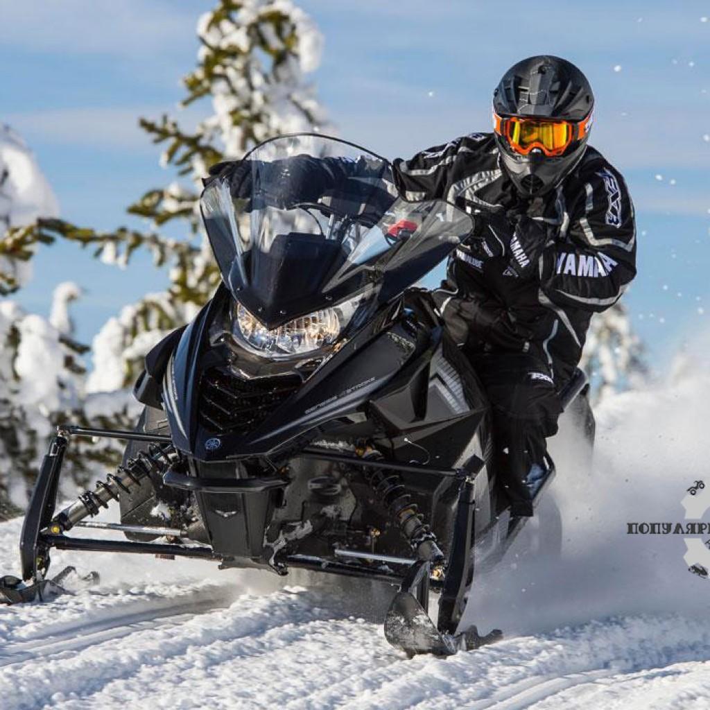 Фото анонса модельного ряда снегоходов Yamaha 2015 года - Yamaha SR Viper LTX DX 2015