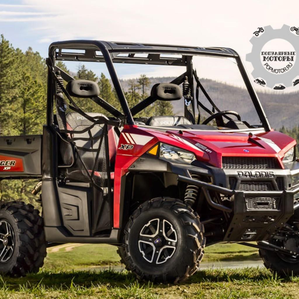 Фото модельного ряда ATV и UTV Polaris 2013 года - Polaris Ranger XP 900 2013 богатырь