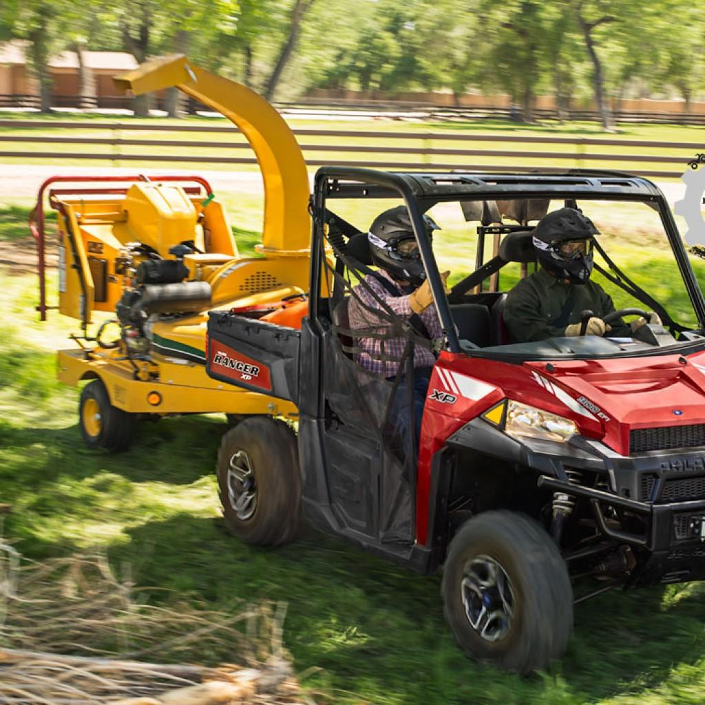 Фото модельного ряда ATV и UTV Polaris 2013 года - Polaris Ranger XP 900 2013 газонакосилка