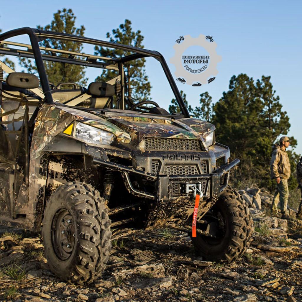 Фото модельного ряда ATV и UTV Polaris 2013 года - Polaris Ranger XP 900 2013 на охоте