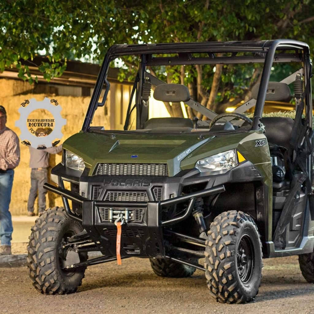 Фото модельного ряда ATV и UTV Polaris 2013 года - Polaris Ranger XP 900 2013 погрузка