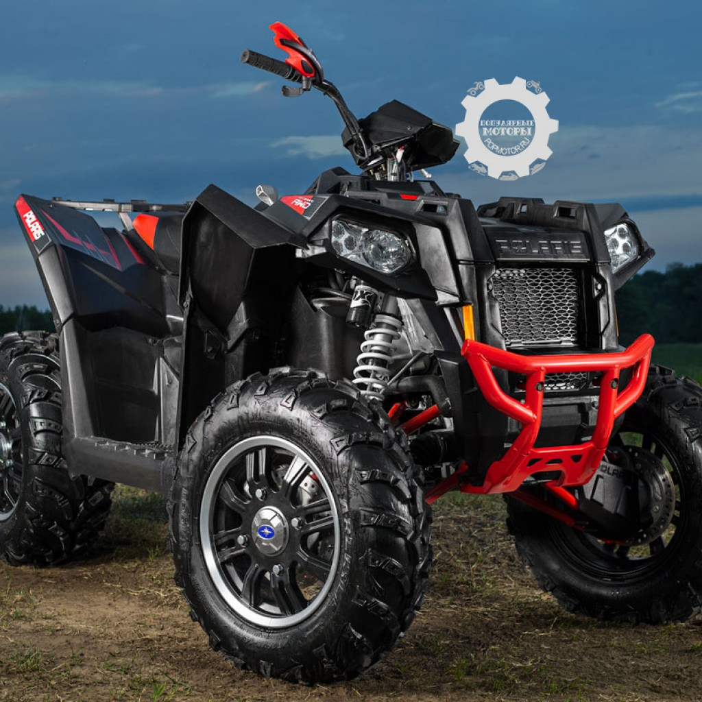 Фото модельного ряда ATV и UTV Polaris 2013 года - Polaris Scrambler XP 850 LE 2013 богатырь