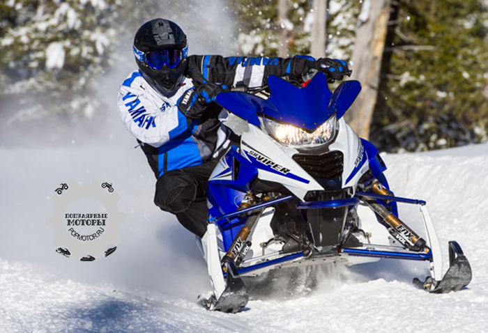 Фото снегохода Yamaha SR Viper RTX LE 2015 партнерство Arctic Cat и Yamaha