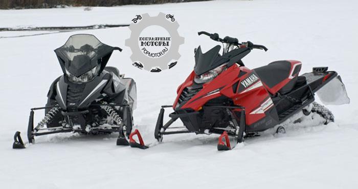 Фото снегоходов Arctic Cat Yamaha партнерство 2014