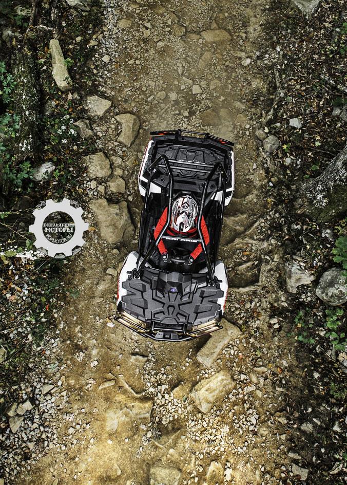 Polaris представили публике новый революционный вездеход Polaris Sportsman ACE 2014